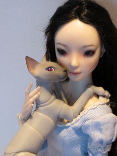Kitty cuddles | Flickr - Photo Sharing!