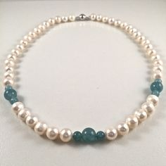 Beautiful Freshwater Pearl Necklace, Exotic Pearl Necklace by JiaojiaosPearls on Etsy