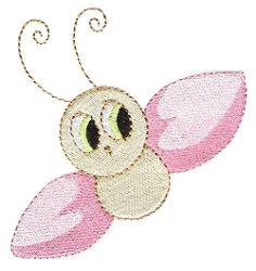 Free Embroidery Design: Cute Bug - I Sew Free