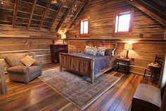 Guntersville Lake cabin rental - Spacious Master bedroom complete with King size bed