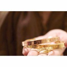 Coordinates Collection bracelets...