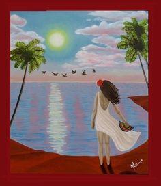 La Conquista - Óleo sobre tela - 60x50 - Oil on canvas - #Artwork #drawing #painting
