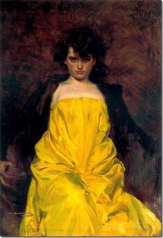 Ramón Casas i Carbó - La Sargantain, 1907