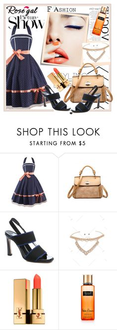 """Bez naslova #586"" by car69 ❤ liked on Polyvore featuring Post-It, Stila, SANCHEZ, Yves Saint Laurent, Victoria's Secret, fashionable and rosegal"