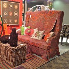 Pops of Color Las Vegas World, Market Trends, High Back Chairs, World Market, Color Pop, Armchair, House Design, Sofa, Furniture