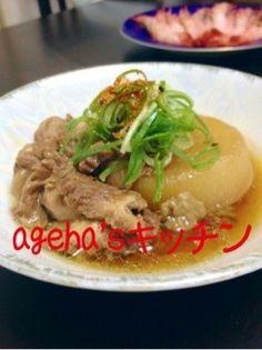 とろける‼居酒屋の牛スジ大根☆ by **ageha** [クックパッド] 簡単おいしいみんなのレシピが257万品