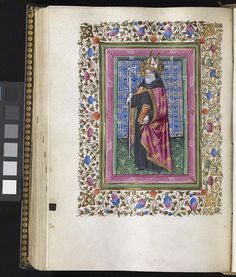 jothelibrarian:    Pretty medieval manuscript of the day dates from around 1460.