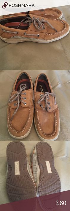 Sperry Top Siders LIKE NEW! Excellent condition Sperry Top Sider shoes. Barely worn as pictured. Stylish shoe and super comfy. Great price! Sperry Top-Sider Shoes