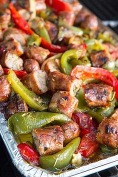 Italian Sausage Pasta, Italian Sausage Recipes, Sweet Italian Sausage, Italian Cooking, Sausage And Peppers Italian, Roasted Italian Sausage, Onion Recipes, Pork Recipes, Kitchens