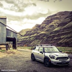 Roads? Susanna L. motors wherever she pleases with her MINI Countryman's ALL4 all-wheel drive. #MINI #Countryman #Family #Roadtrip #Adventure #Vacation