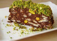 Fıstıklı Mozaik Pasta Tarifi