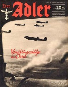 Picture for Der Adler №15 22 Juli 1941