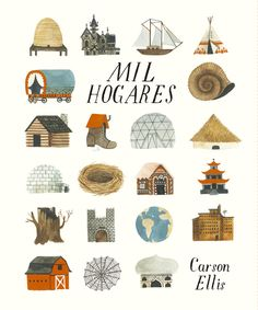 Read Home children book by Carson Ellis . Influential artist Carson Ellis makes her solo picture-book debut with a whimsical tribute to the many possibilities of Carson Ellis, The Decemberists, Guache, Children's Book Illustration, Book Illustrations, Conte, Childrens Books, Kid Books, Toddler Books