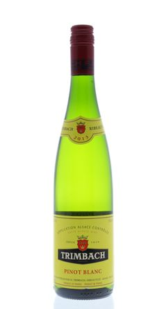 Trimbach Pinot Blanc 2013 (French wine class)