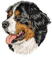 embroidery designs bernese mountain dogs | Working GROUP dog designs from 4-Paws.com