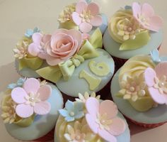 Sweet 16 Cupcakes by ShereensCakes