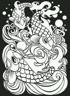 Welcome To Dover Publications Japanese Tattoo Art Stained Glass Coloring Book Jeremy Elder