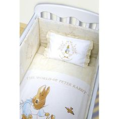 I Love This Bedding Melody Crib Peter Rabbit