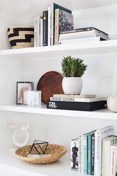 Amber Lewis of Amber Interiors gives you quick and easy steps to achieve a perfectly stylized bookshelf.