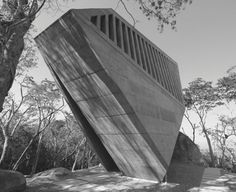 Sunset Chapel, Acapulco, Mexico, 2011 by Bunker Arquitectura. Via his Twitter feed This Brutal House, designer Peter Chadwick has been feeding an appreciative audience a steady stream of brutalist architectural gems for several years. A fraction of his huge collection of images has now been made into a rather beautiful book of the same name.