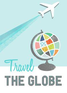 Travel the Globe by Jenny Tiffany