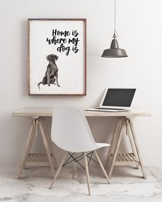 Home Is Where My Dog Is Black Labrador Print Labrador Black Labrador, Watercolor Print, Things To Think About, Dogs, Design, Etsy, Collection, Products, Creativity