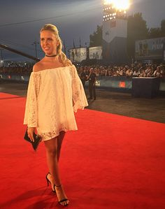 Actress Giorgia Marin attends the premiere of 'Questi Giorni' during the 73rd Venice Film Festival at Sala Grande on September 8, 2016 in Venice, Italy.