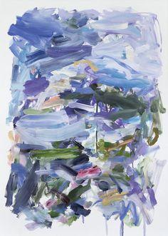 Yolanda Sanchez, Wanderings #1 (2012), via Artsy.net