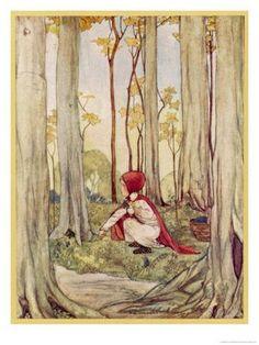 Pinzellades al món: Caputxeta Roja il·lustrada / Caperucita Roja ilustrada / Little Red Hood illustrated / Chaperon Rouge illustré (1)