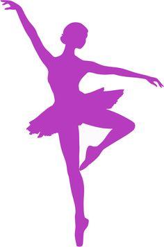 Muursticker Ballerina 1, 22 kleuren