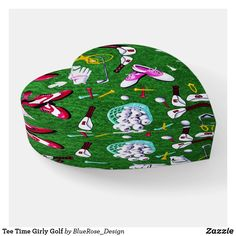 Tee Time Girly Golf Paperweight Decoration Piece, Photo Quality, Different Shapes, Paper Weights, Thoughtful Gifts, Keep It Cleaner, Holiday Cards, Bean Bag Chair, Golf