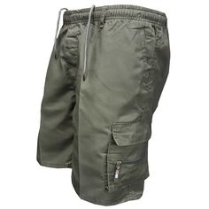 Men Multi Pocket Military Cargo Shorts 2018 Summer Cotton Loose Knee L – heavengif Casual Mode, Men Casual, Georgia, Military Shorts, Army Pants, Pantalon Cargo, Mens Sweatpants, Shorts With Pockets, Pocket Shorts