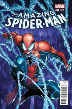 Amazing Spider-Man #1 variant cover by Humberto Ramos.