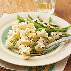 Ricotta and Lemon-Basil Pasta | MyRecipes.com #MyPlate #grain #dairy