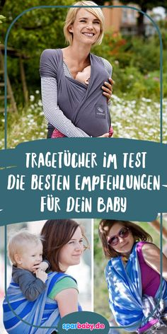 The best baby sling - Tips for buying a sling: These are the best slings # Sling - Baby Kind, Mom And Baby, Baby Baby, Baby Design, Best Baby Sling, Construction Leads, Body Organs, Third Trimester, Kids Sleep