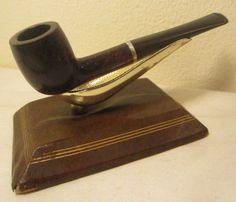 Vintage LHS Certified Purex Straight Billiard Estate Briar Tobacco Smoking Pipe