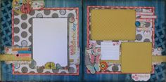 June's Layout of the Month is perfect for spring or summer photos.