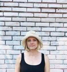 Wicker Hat / Bucket Hat / Mickey Hat / Disney / Vintage Straw Hat / Woven Bucket Hat / Straw Bucket Hat / by itsMagari on Etsy Summer Breeze, Vintage Wear, Hat Sizes, Neutral Colors, Boho Dress, Wicker, Bucket Hat, Crochet Hats, Prom