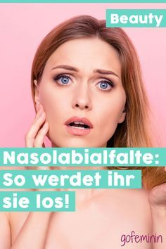 Nasolabial fold: With these 6 methods you can get rid of the wrinkle! Nasolabial fold: With these 6 methods you can get rid of the wrinkle! Beauty Care, Beauty Skin, Beauty Hacks, Face Beauty, Skin Secrets, Skin Tips, Afro Hair Care, Nasolabial Folds, How To Grow Eyebrows