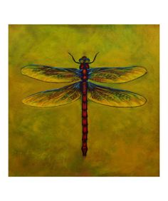 Dragonfly Lexie Giclee Print by Sheryl Bunnage at AllPosters.com