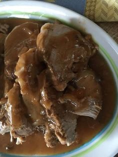 This Slow Cooker Pork Tenderloin is Oh So Tender it will KNOCK YOUR SOCKS OFF! I love making pork in the crockpot, it's so easy and literally falls apart once cooked. This pork tenderloi… (slow cooker roast recipes) Crockpot Dishes, Crock Pot Slow Cooker, Crock Pot Cooking, Pork Dishes, Pressure Cooker Recipes, Crockpot Recipes, Cooking Recipes, Cooking Ideas, Cooking Bacon