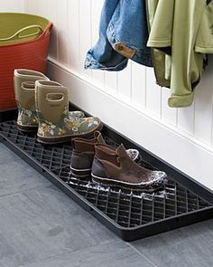 Boot Trays Contain the Mess, Protect Your Floors