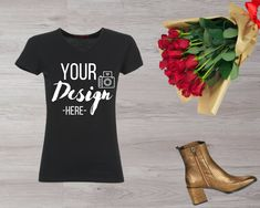 Romantic Woman, Image Digital, Shirt Template, T Shirt Image, Woman Illustration, Blank T Shirts, Shirt Mockup, Mens Sweatshirts, Photo Editor