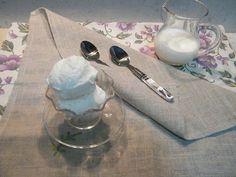 gelato fior di latte con gelatiera gelato semplice senza uova