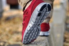 Nike Free Run+2 Bordeaux & Black