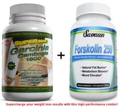 Savaun Combines Garcinia Camgobia And Forskolin To Give Customers Best Weight Loss Results. The effects of garcinia cambogia and forskolin are examined as an ultimate weight loss product combination.