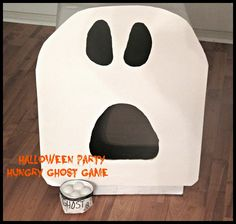 Halloween Party Ghost Game aka Hungry Ghost DIY