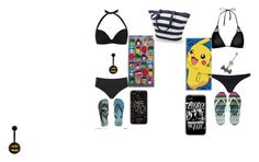 """""""beach day"""" by loveforlifeismything on Polyvore featuring M&Co, JETS, Pacha, Topshop, Aéropostale and Marvel"""