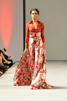 Diani Mota Couture Fashion Show New York 2013 Collection Printemps 2013 #dianimota #mode #fashion #women #femmes #printemps2013 #newyork #couturefashionshow #couture #inspiration #robe #dress