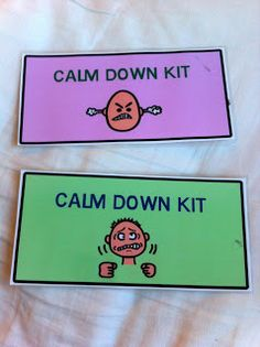 The Autism Adventures of Room 83: Calm Down Kit